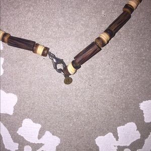 American Eagle Outfitters Jewelry - American Eagle Wooden Beaded Boho Necklace